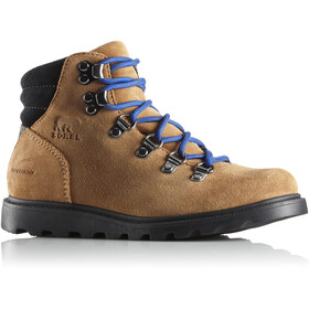 Sorel Youth Madson Hiker Waterproof Shoes Camel Brown/Black